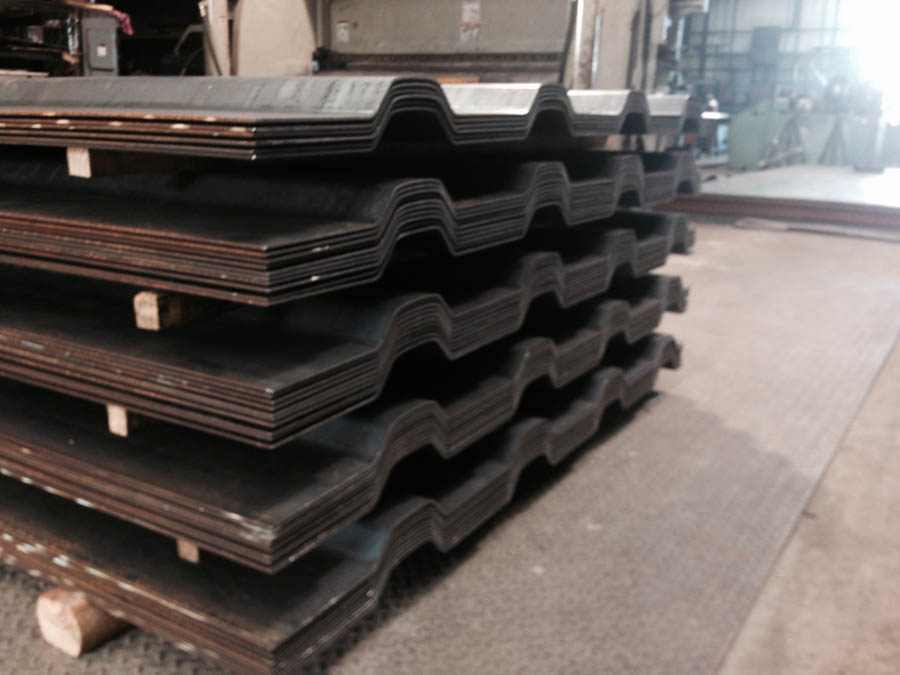 Steel Plate Crimping Texas Stairs And Rails